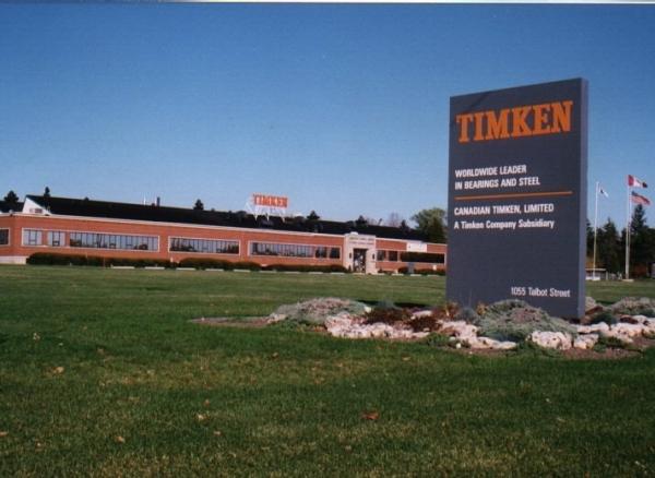 Former Timken Canada Plant