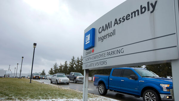 Approval of $1B General Motors deal brings job security to Ingersoll, Ont. plant